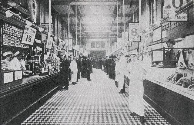 Angel Islington, Home & Colonial Stores interior C1910