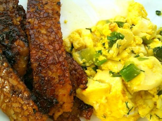 Tofu Scramble with Fresh Herbs from Food.com: I'm always looking for a ...