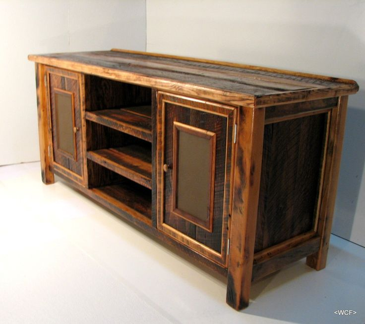 Reclaimed barn wood tv stand - Reclaimed wood tv stand ideas ...