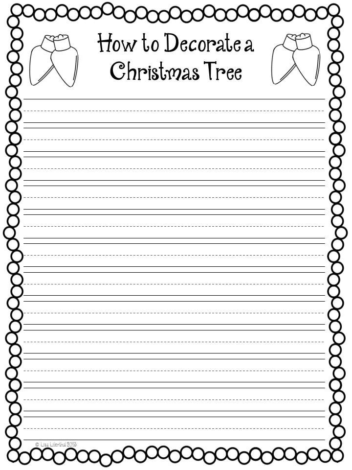 christmas tree writing paper christmas trees printable activities and print to light green paper christmas tree