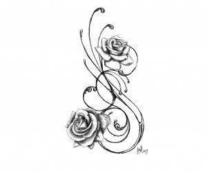 Rest in peace drawings heart top cross tattoo drawings designs images