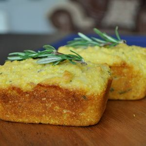 Individual Rosemary Polenta Loaves from Serious Eats - Carb craving ...