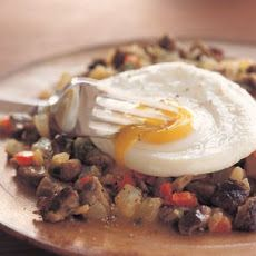 Steak Hash and Eggs Recipe | cravings | Pinterest