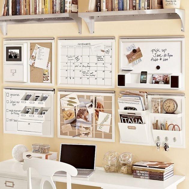 Pottery Barn Wall Organization Organization Pinterest
