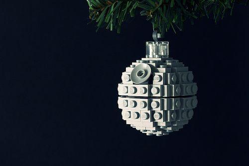 DIY Lego Death Star Ornament