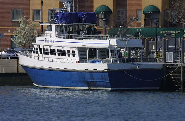 Blue sea v sheepshead bay sheepshead bay brooklyn for Sheepshead bay fishing boats