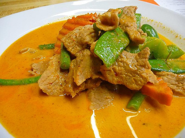 Beef Panang Curry. Great for lovers of sweet curries and easy to make!