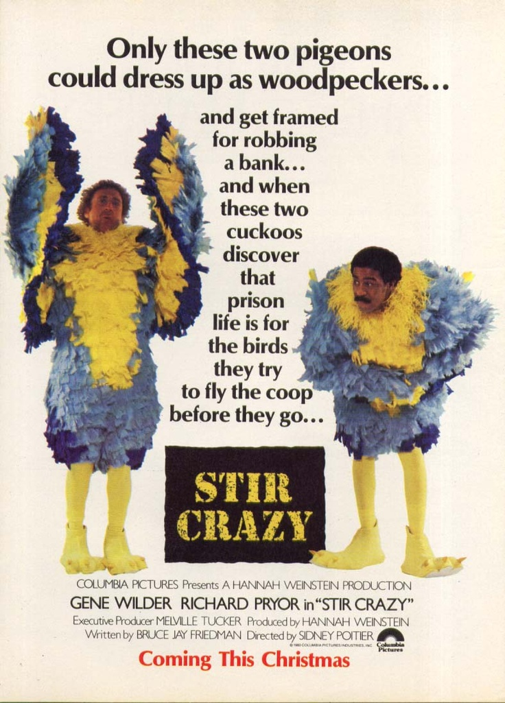 Stir Crazy - One of the best comedy movies I have ever seen. Richard ...