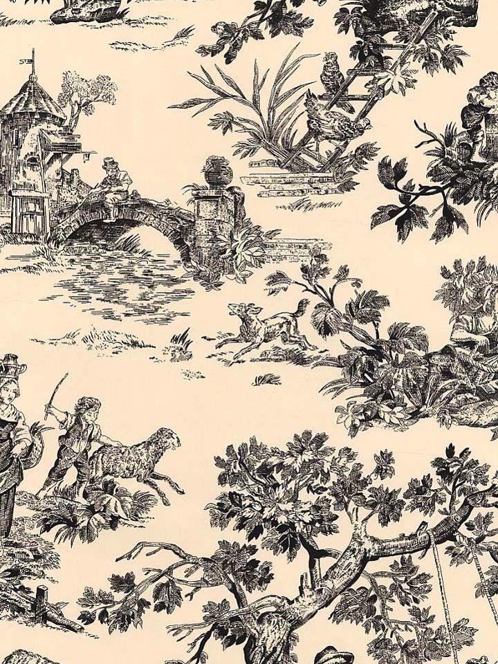 toile wallpaper wallpaper pinterest