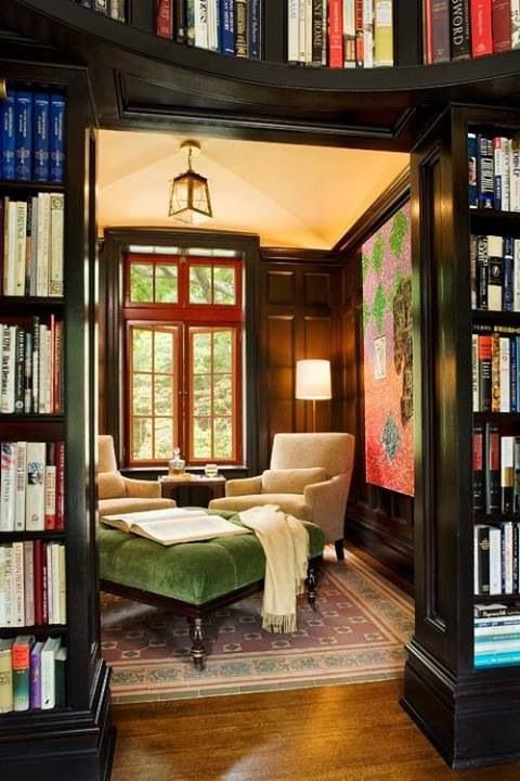 Cozy reading nook for the home living room pinterest Reading nook in living room
