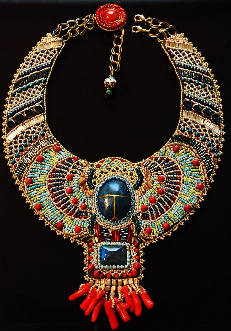 egyptian scarab necklace - photo #41