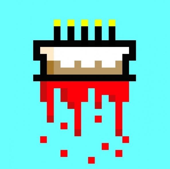 Pixel Art Wedding Cake : Pin Pixel Art Cake Ideas and Designs