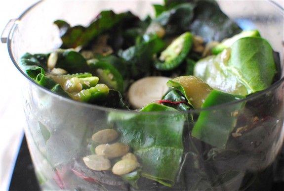 Swiss chard-based pesto | Recipes | Pinterest