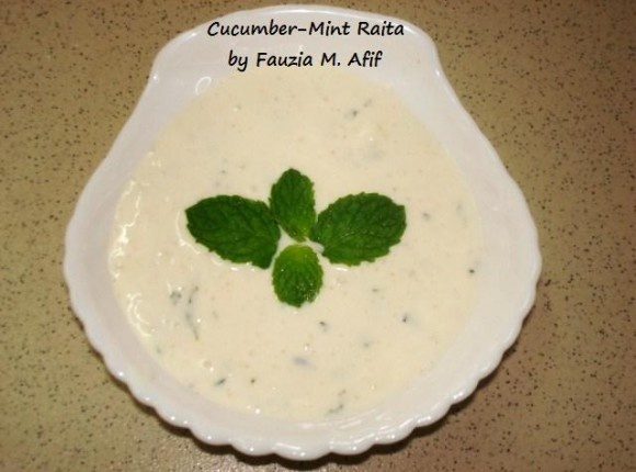 Cucumber-Mint Raita | Dip it in!!! (Dips and such) | Pinterest
