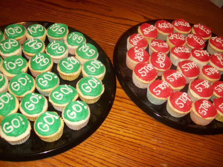 Pinewood Derby Cupcakes