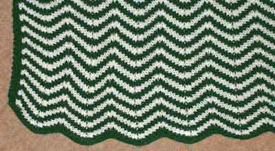 Knit Ripple Afghan Pattern : AFGHAN KNITTING PATTERN RIPPLE Free Knitting and Crochet Patterns