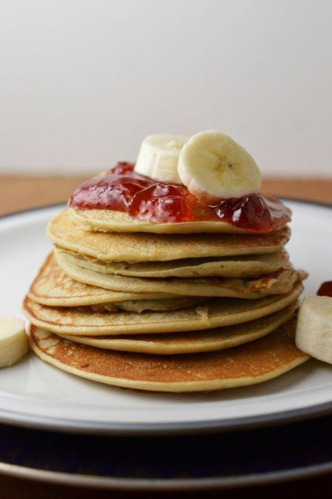 cottage cheese pancakes | breakfast. | Pinterest