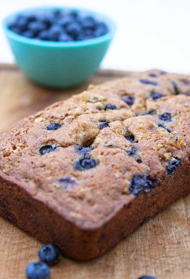 Pip & Ebby - Blueberry zucchini bread