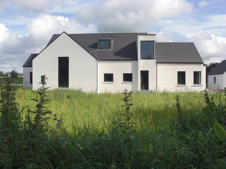 Modern irish rural building house styles pinterest