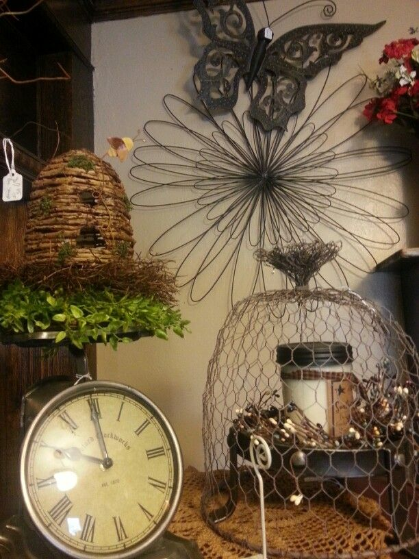 Country Decor Crafts Ideas