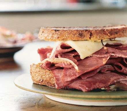 Grilled Corned Beef and Fontina Sandwiches - Perfect for lunch during ...