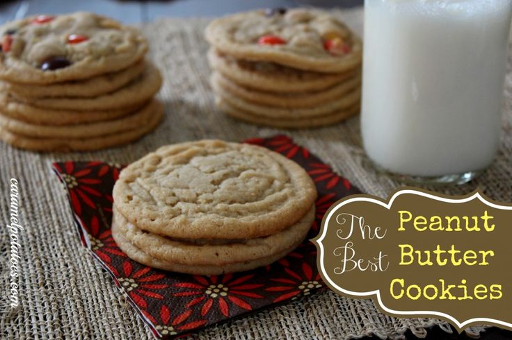The Best Peanut Butter Cookies. They really are the best I've had. I ...