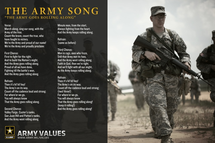 8 army values essay