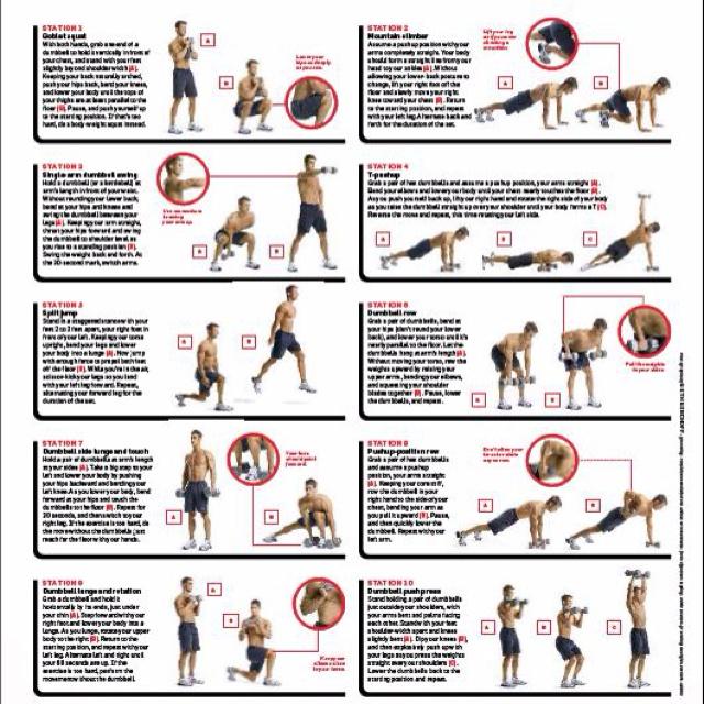 Men's Heath Spartacus workout. | Fit for Sentience | Pinterest