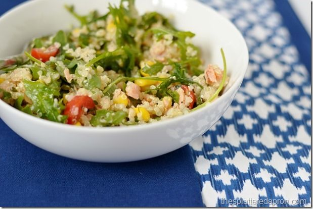 Smoked Salmon Quinoa Salad | Food & Drink Recipes | Pinterest