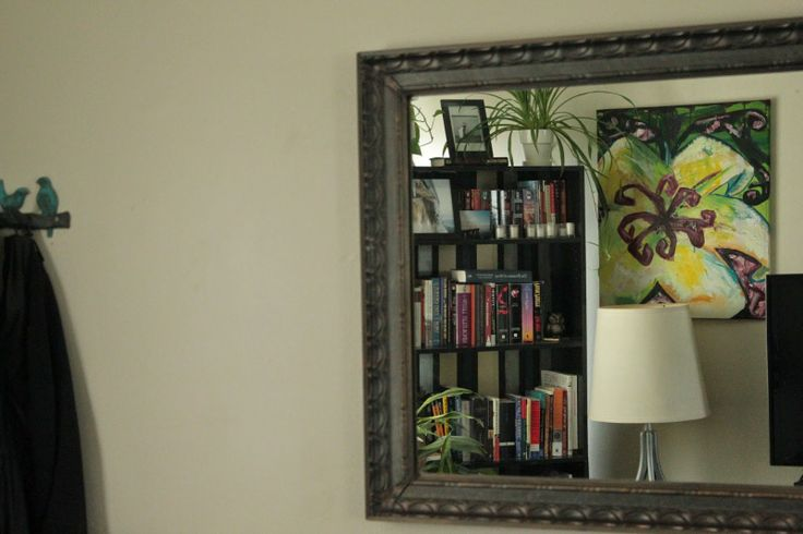 Mirror books paintings living areas pinterest for Mirror books