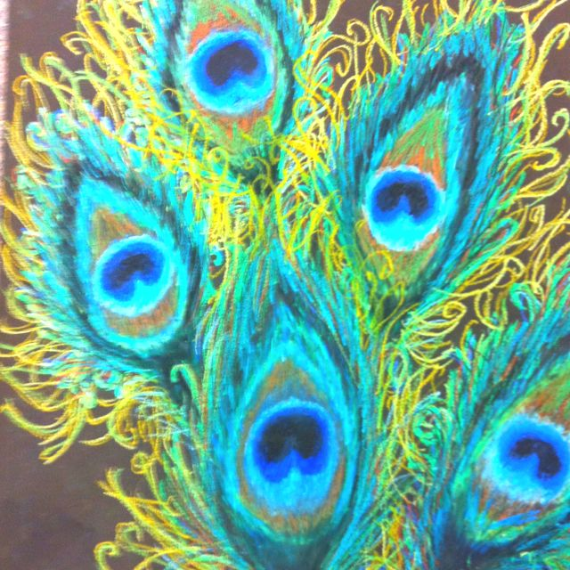 The Gallery For Oil Pastels Drawings Nature