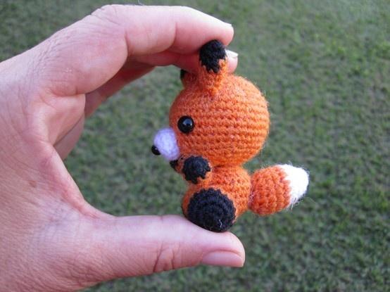 Crochet Fox : Crochet fox Amigurumi Pinterest