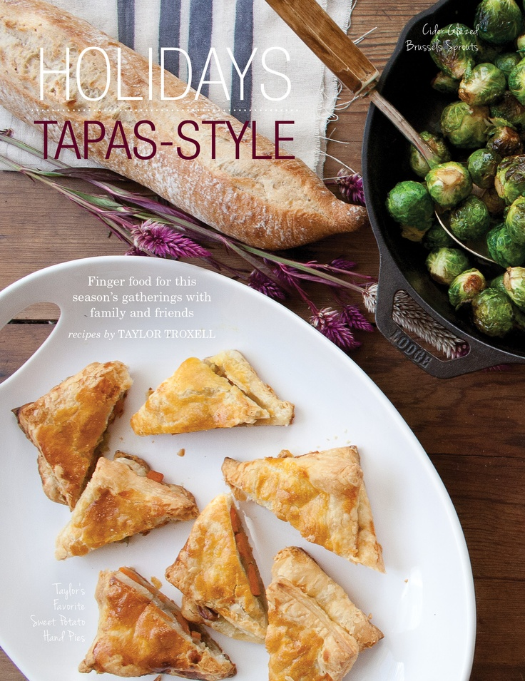 ... Cider-glazed brussels sprouts and sweet potato handpies ReadBreathe