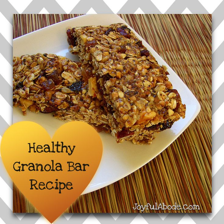 Homemade healthy granola bar recipe - my second most-popular recipe of ...