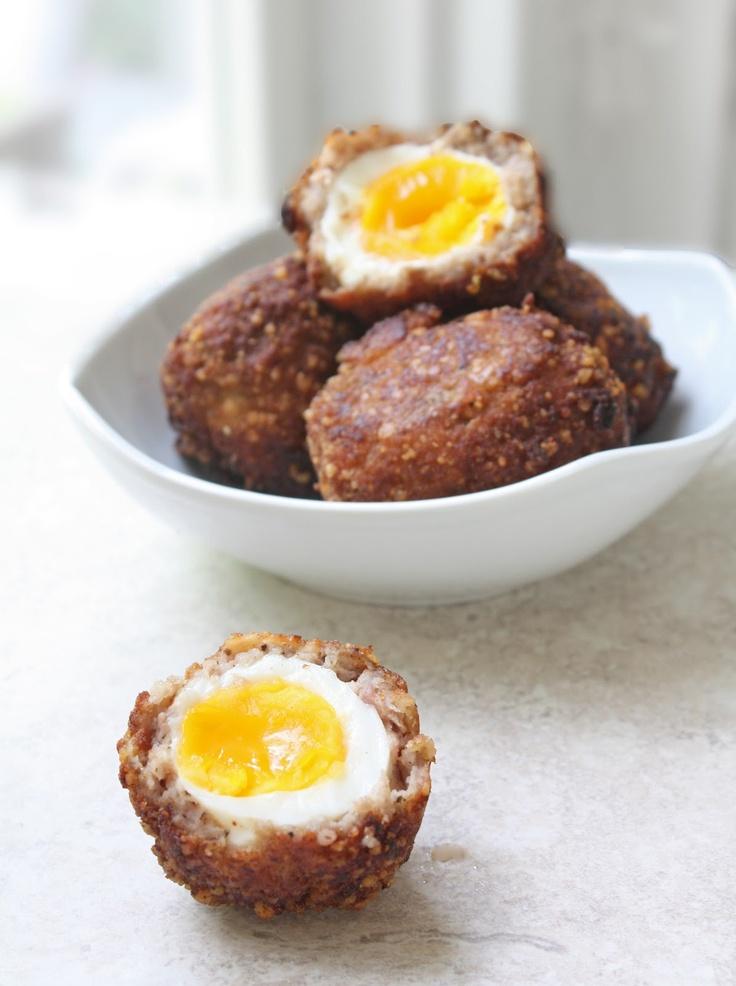 Scotch Eggs | ♖ ℜenaissance Faire Recipes | Pinterest