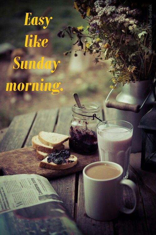 Good Morning Everyone Que Significa : Hogar en armonÌa good morning happy sunday feliz domingo