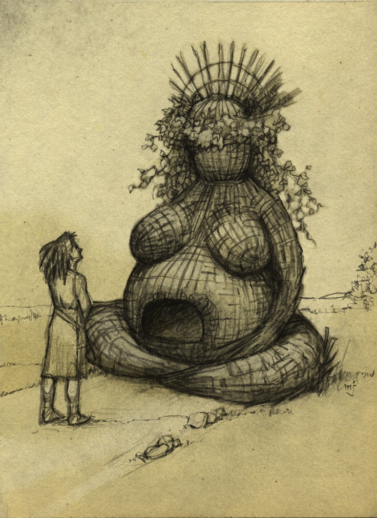The wickerman for Castlefest 2012 will symbolise mother earth| Gaia