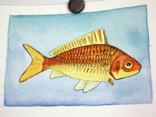 gold fish | craft ideas | Pinterest