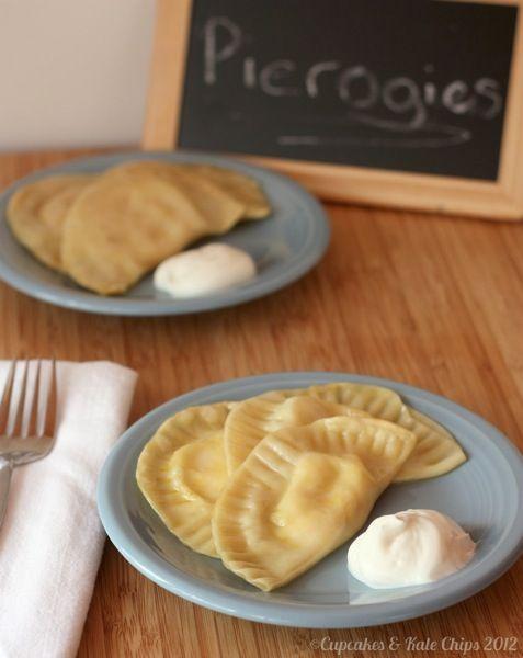 Homemade Potato Cheese & Pot Cheese (Farmer's Cheese) Pierogies ...