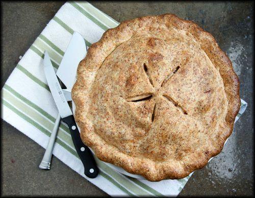 Cheddar-Crust Apple Pie | Food & Bev | Pinterest