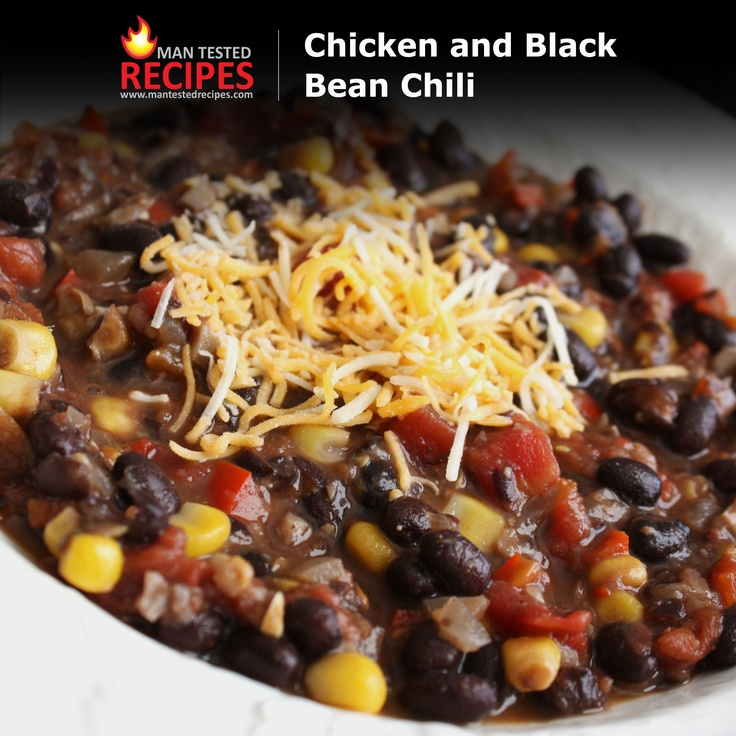 Super Bowl Sunday -- Chicken and Black Bean Chili -- This super easy ...
