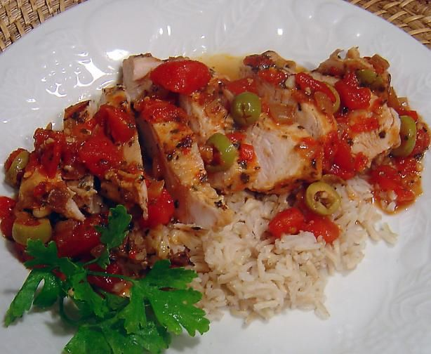Mediterranean-Style Stuffed Chicken Breasts Recipe — Dishmaps