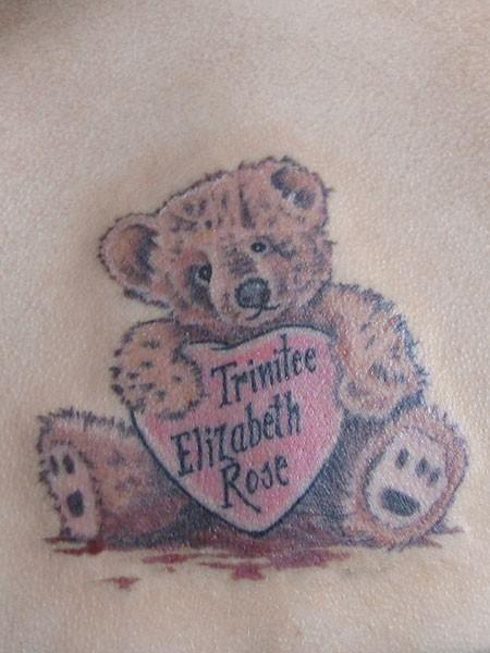 Bear вышивка схемы