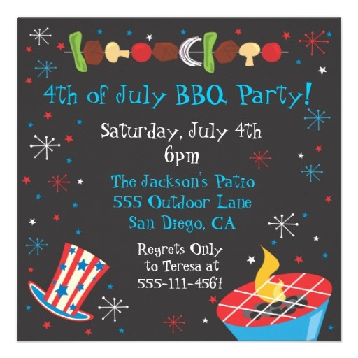 4th of july bbq party ideas