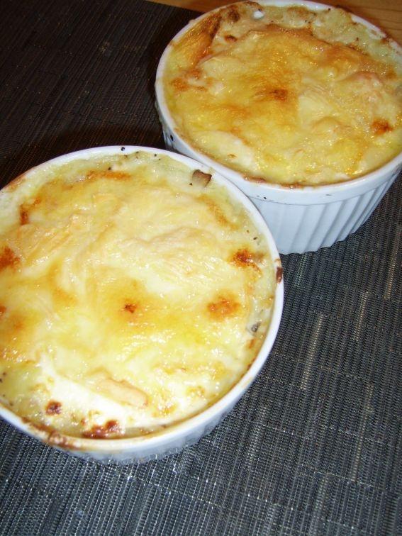 Tartiflette (French potato & bacon casserole)