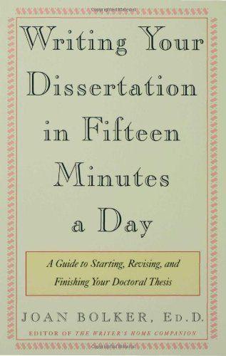 revising dissertation publication