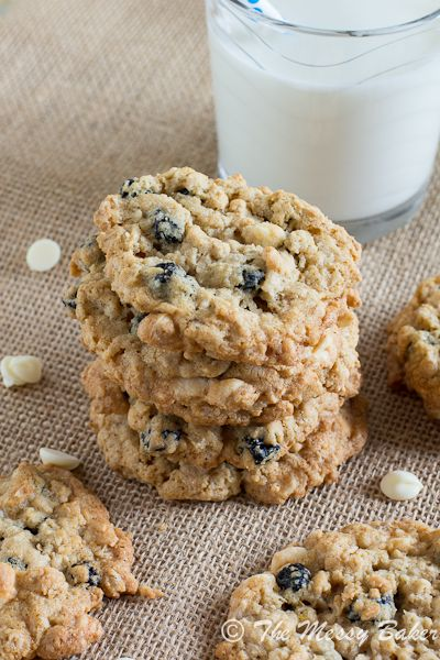Blueberries & Cream Oatmeal Cookies | Tasty Kitchen: A Happy Recipe ...