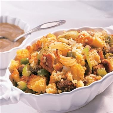 Corn-Bread-and-Sausage-Stuffing: I am going to try making this with ...