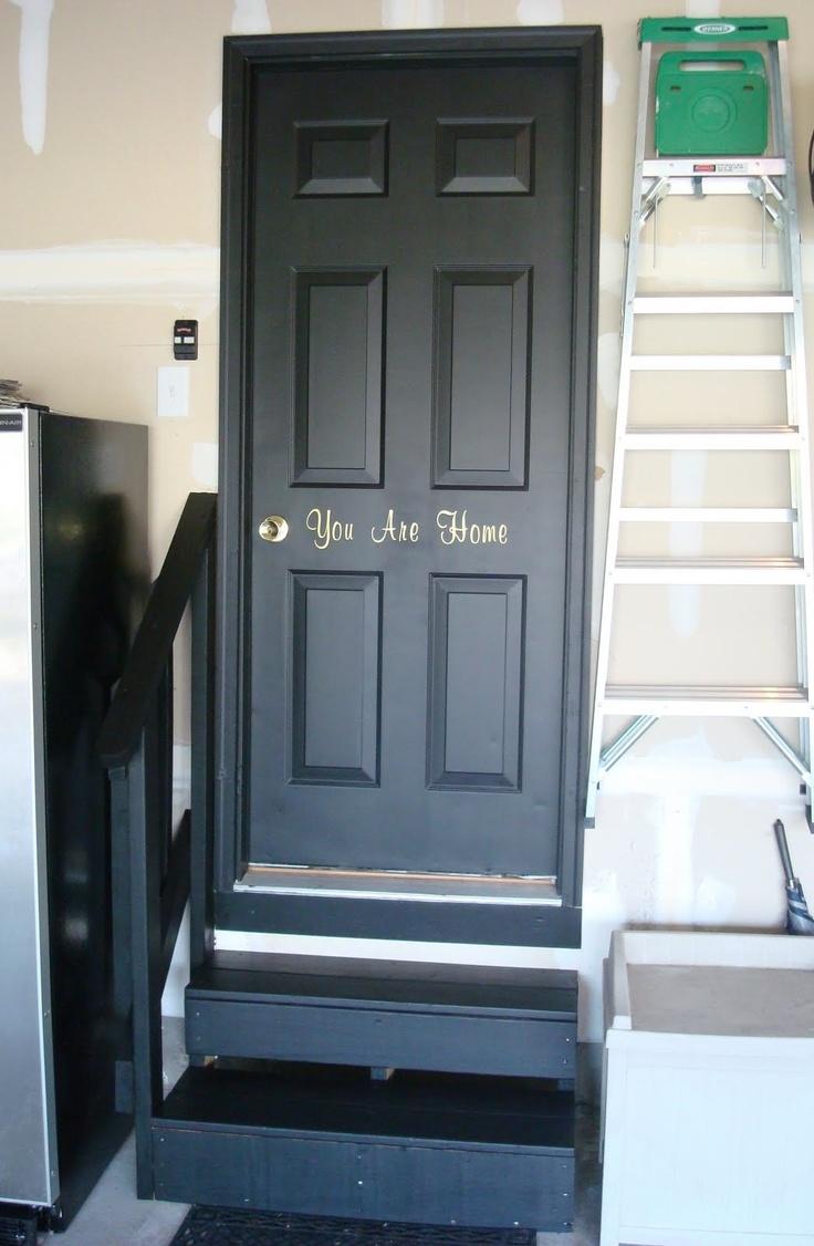 Garage Interior Door For The Home Pinterest