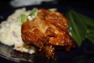 Peach Whiskey Barbecue Chicken | Ruth's Food Gospel Favorites | Pinte ...